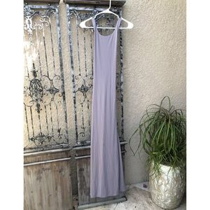 vintage LAUNDRY by SHELLI SEGAL purple maxi dress